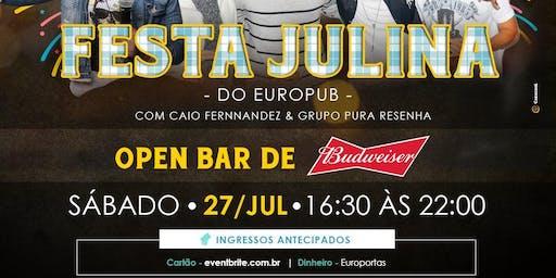 FESTA JULINA DO EUROPUB