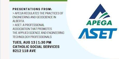 APEGA & ASET Info Session tickets