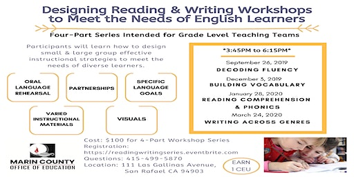 Designing Reading and Writing Workshops to Meet the Needs of English Learners