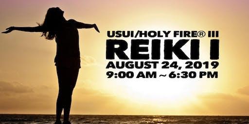 Usui/Holy Fire® III Reiki I Training in Chandler, Arizona