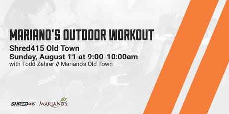 Shred415 Mariano's Outdoor Workout Old Town tickets