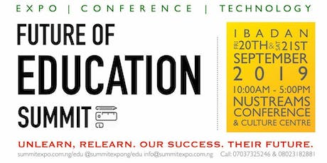 FUTURE OF EDUCATION SUMMIT AND EXPO tickets