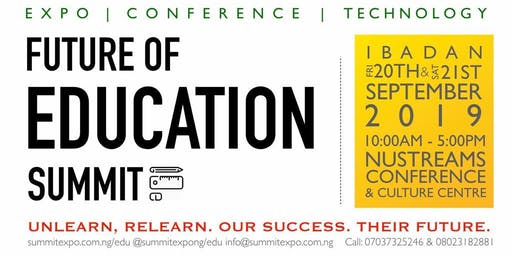 FUTURE OF EDUCATION SUMMIT AND EXPO