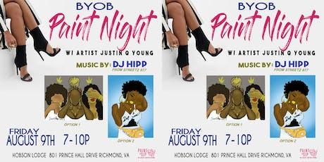 BYOB Paint Night-RVA tickets