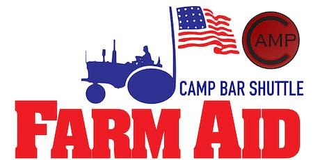 Camp Bar - Farm Aid 2019 - WAUWATOSA Shuttle tickets