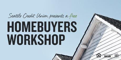 Homebuyers Workshop - Burien Branch tickets