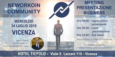 MEETING PRESENTAZIONE BUSINESS - NEWORKOIN COMMUNITY - VICENZA