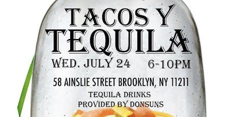 Tacos Y Tequila tickets
