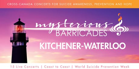 2019 Kitchener Waterloo Concert for Suicide Awareness, Prevention, and Hope tickets