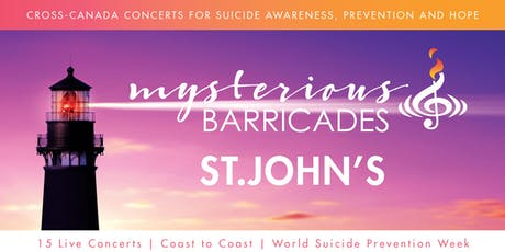 2019 St. John's Concert for Suicide Awareness, Prevention, and Hope tickets