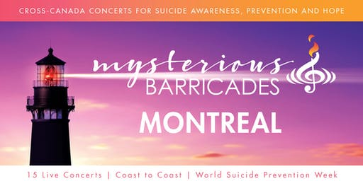 2019 Montreal Concert for Suicide Awareness, Prevention, and Hope