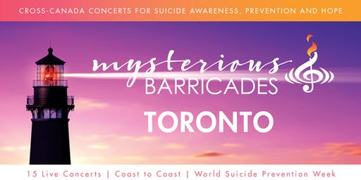 2019 Toronto Concert for Suicide Awareness, Prevention, and Hope
