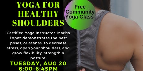 Yoga for healthy Shoulders tickets