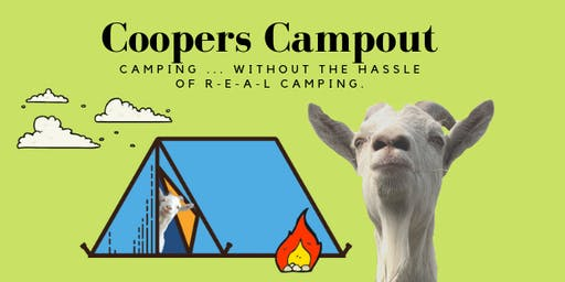 Cooper's Camp Out
