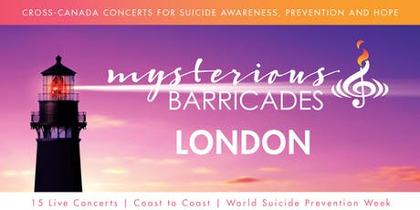 2019 London Concert for Suicide Awareness, Prevention, and Hope tickets