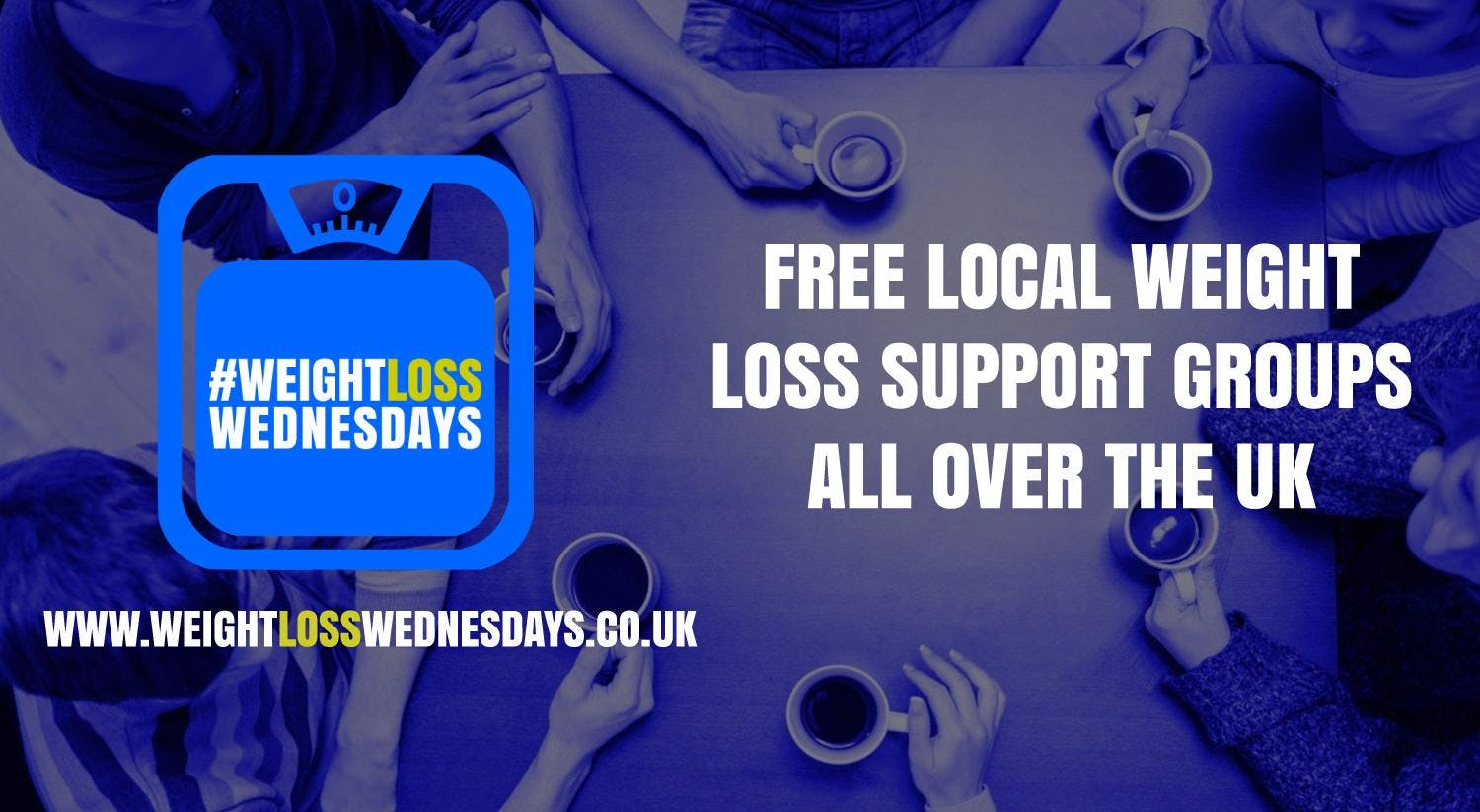 WEIGHT LOSS WEDNESDAYS! Free weekly support group in Ilkley