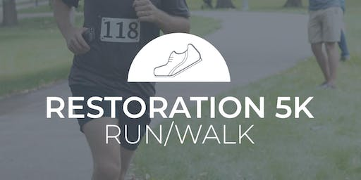6th Annual Restoration 5K in support of the The Transitional Living Center