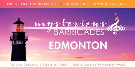 2019 Edmonton Concert for Suicide Awareness, Prevention, and Hope tickets