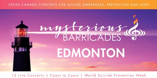2019 Edmonton Concert for Suicide Awareness, Prevention, and Hope