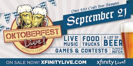 Oktoberfest Live! 2019 tickets