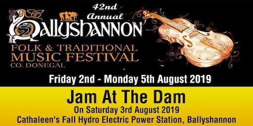 Jam at the Dam