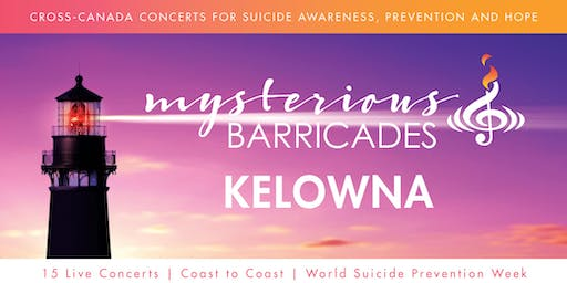 2019 Kelowna Concert for Suicide Awareness, Prevention, and Hope