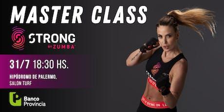 Master Class de Strong by Zumba con Jesica Cirio entradas