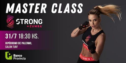 Master Class de Strong by Zumba con Jesica Cirio