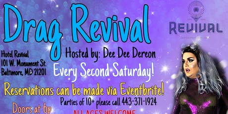 Drag Revival - A Drag Dinner Show tickets