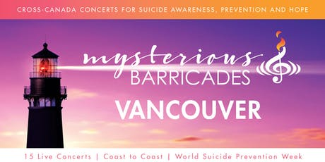 2019 Vancouver Concert for Suicide Awareness, Prevention, and Hope tickets