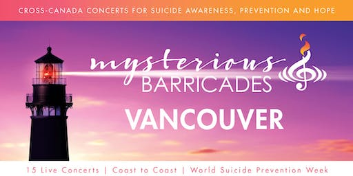 2019 Vancouver Concert for Suicide Awareness, Prevention, and Hope