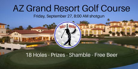 AZ Grand Golf & Grow Tournament tickets