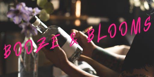 Booze & Blooms Workshop