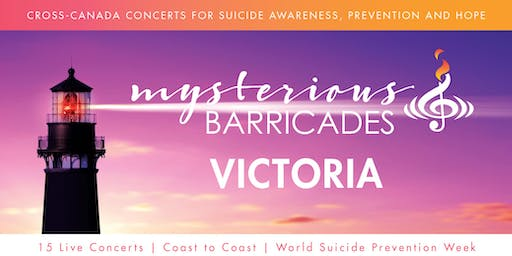 2019 Victoria Concert for Suicide Awareness, Prevention, and Hope