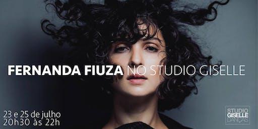 FERNANDA FIUZA NO STUDIO GISELLE