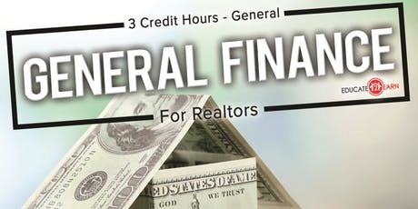 General Finance For Realtors 3CE - General tickets
