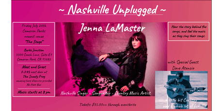 Jenna LaMaster with special guest tickets