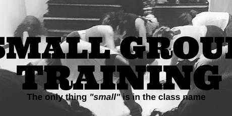 SMALL GROUP TRAINING / WEDNESDAY - 7:00PM at Dynamic Fitness  tickets