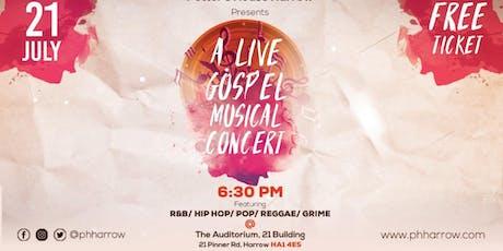 P.H.Harrow Gospel Concert tickets