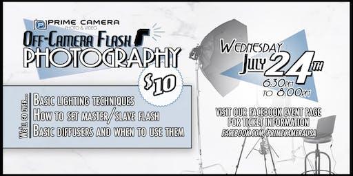 Off-Camera Flash Photography