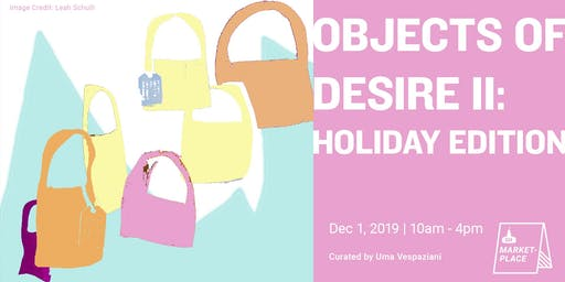 Vendor Participation Fee for GH Marketplace: Objects of Desire II - Holiday Edition
