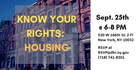 Know Your Rights: Fair Housing Town Hall tickets