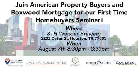 First-time Homebuyers Seminar tickets