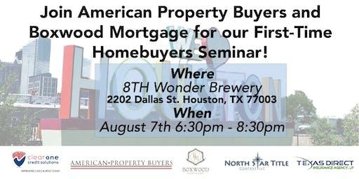 First-time Homebuyers Seminar