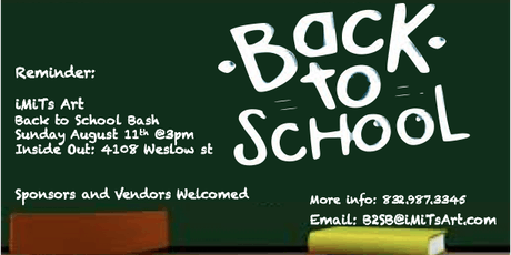 Back 2 School Bash tickets