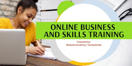 ONLINE BUSINESS AND SKILLS TRAINING tickets