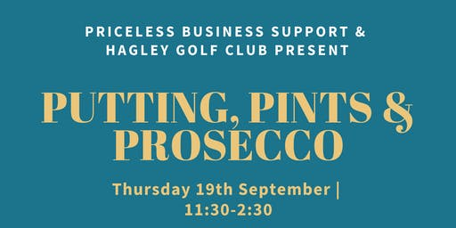 Putting, Pints and Prosecco