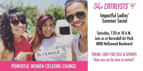 POWERFUL WOMEN CREATING CHANGE: SheCatalysts Summer Social tickets