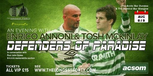 The Defenders of Paradise - Enrico Annoni & Tosh McKinlay