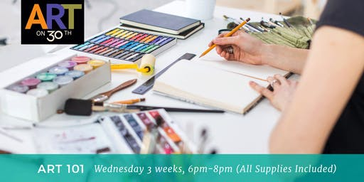 WED PM - Art 101: June with Laurie Fuller